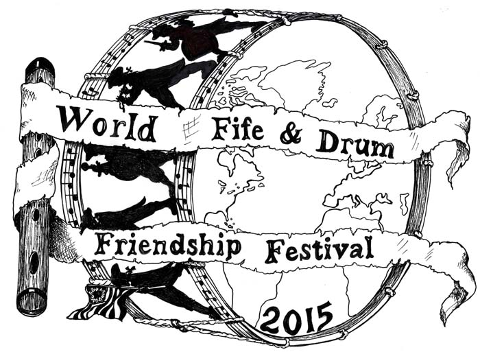 World Fife and Drum Friendship Festival Logo